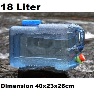 18L Water Bucket Storage Barrel Container