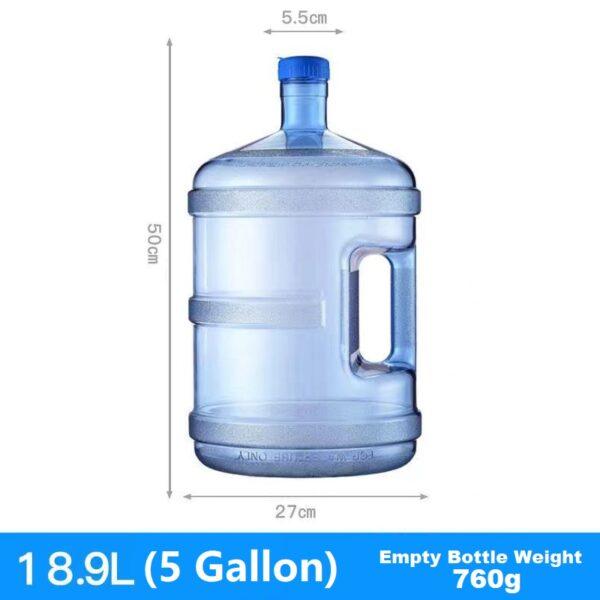 5 Gallon Empty Water Bottle